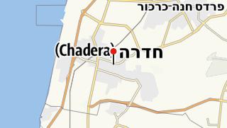 Map / ״Khan״ Museum, Hadera