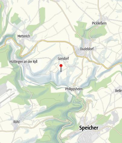 Carte / Le parc d'attraction «Eifelpark» à Gondorf