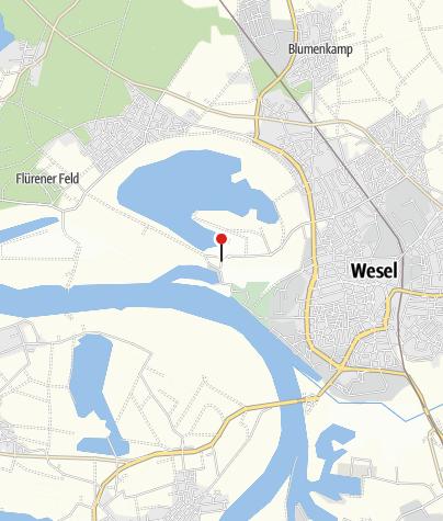 Karte / Per Drahtesel rund um Wesel