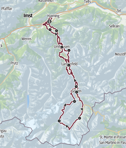 Map / Ötztaler Urweg