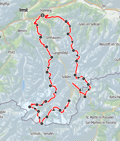 Map / Ötztal Trek