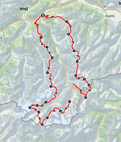 Map / Ötztal Trek