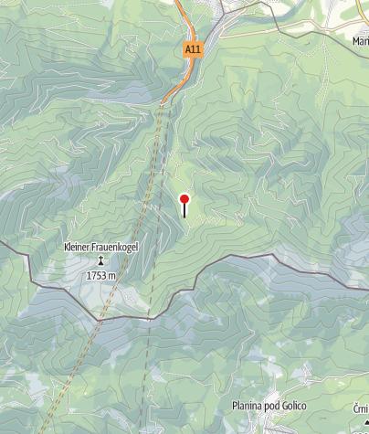 Karte / Bärenhütte im Bärengraben