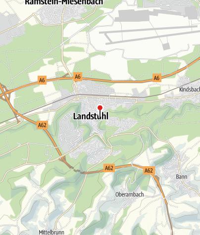 Karte / Burg Nanstein