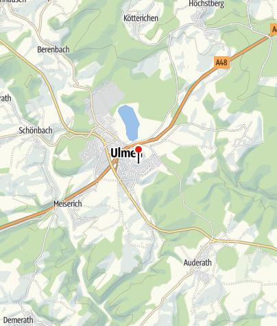 Karte / Burgruine Ulmen