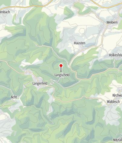 Karte / Wabelsberger Wacholderhütte in Langscheid