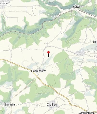 """Mapa / Baumdenkmal \""""Hutebuche\"""" (Besinnungsweg Tafel 6)"""