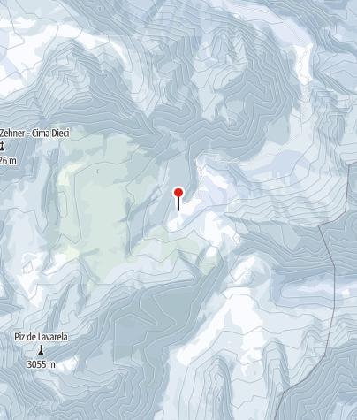 Karte / Skitouren-Woche in der Fanes