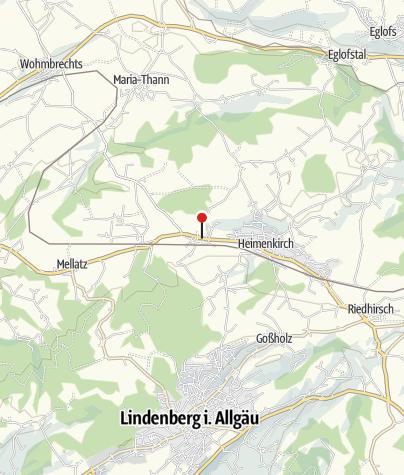 Mapa / Meckatzer Bräustüble