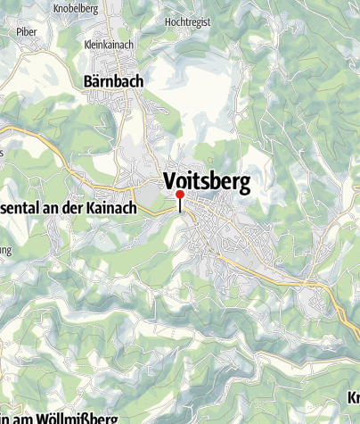 Karte / Schloss Greißenegg