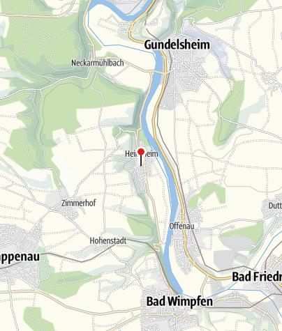 Karte / Schloss Heinsheim