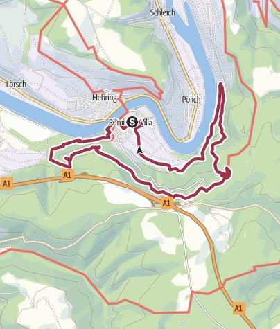 Karte / Extratour Mehringer Schweiz