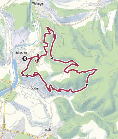 Karte / Saar-Riesling-Steig