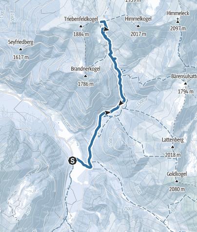 Karte / Moartörl, 1714 m