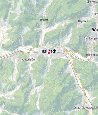 Karte / Molerhiisli in Hausach