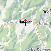 Mappa / Molerhiisli in Hausach