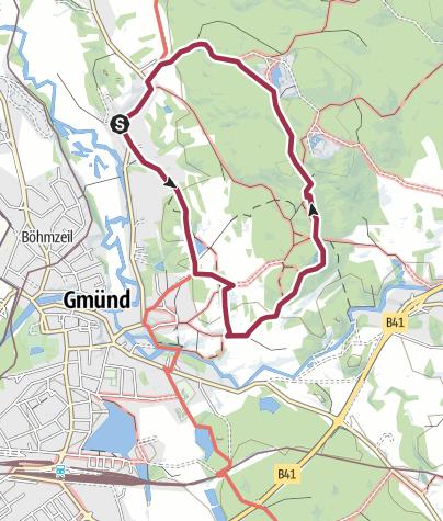 Karte / Naturpark »Blockheide«