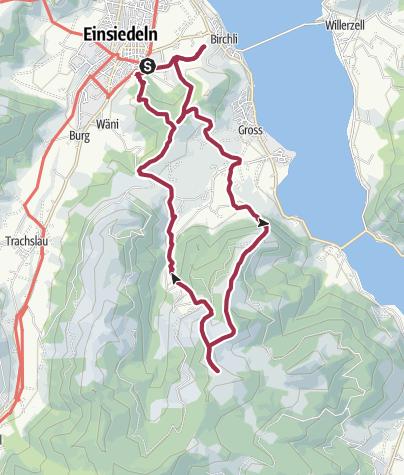 Karte / Rund um Einsiedeln