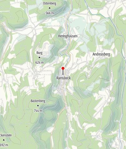 Karte / Sauerländer Besucherbergwerk Ramsbeck