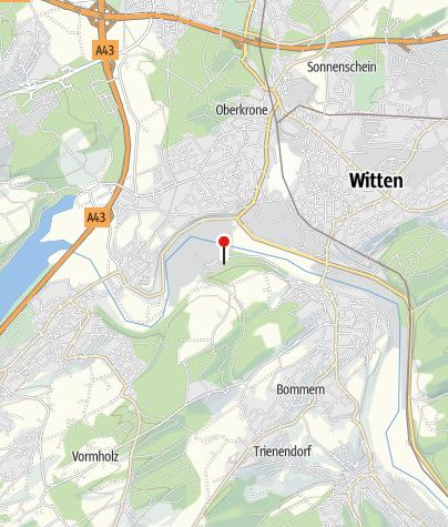 Map / LWL-Industriemuseum Zeche Nachtigall und Bergbaurundwanderweg Muttental