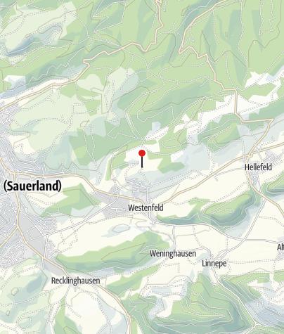 Karte / Walderlebnispfad Westenfeld