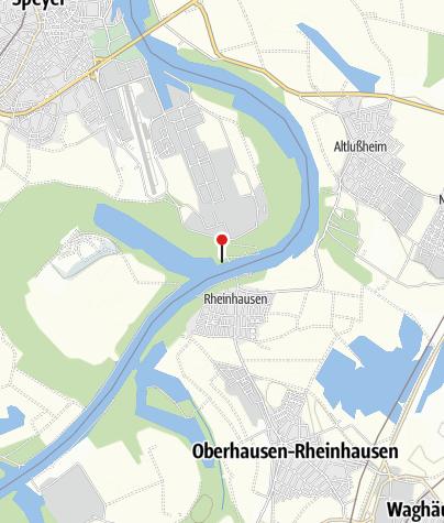 Karte / Radreise Rhein-Radweg 3 - Speyer - Köln