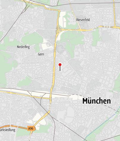 Karte / Radreise Alpen - München-Venedig