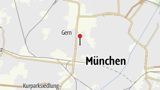 Map / Radreise Alpen - München-Venedig