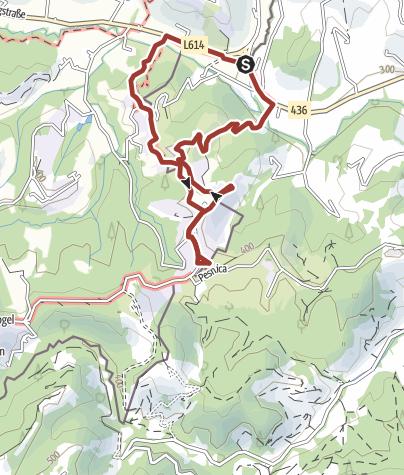 Karte / Grenzlandgalerie - Galierija na meji