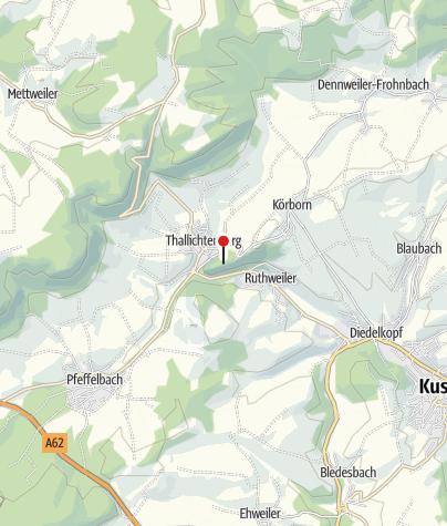 Karte / Zweigstelle Pfalzmuseum für Naturkunde, Burg Lichtenberg