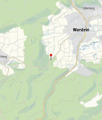 Karte / Bilsteintal mit Bilsteinhöhle und Wildpark
