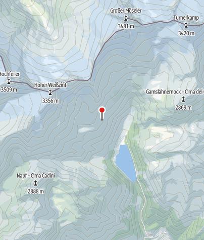 Karte / Neves wildcamp