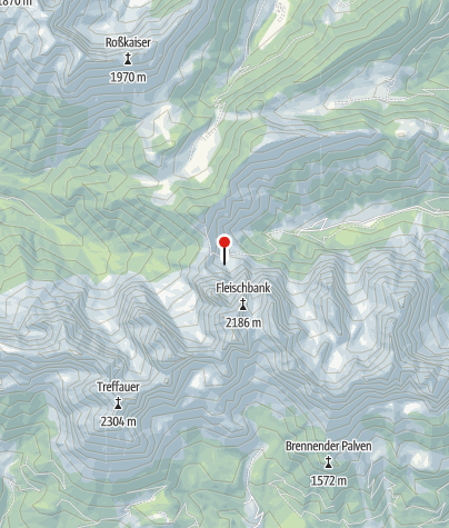 Karte / Alpinklettern Wilder Kaiser - Genussklettern