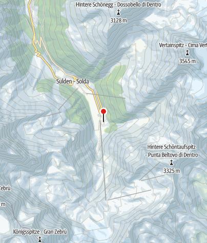 Karte /    Hochtour Ortler - Spektakuläre Grate