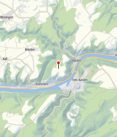 Map / Gallorömische Tempelanlage Martberg