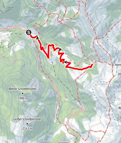 Karte / Großarl: Loosbühelalm