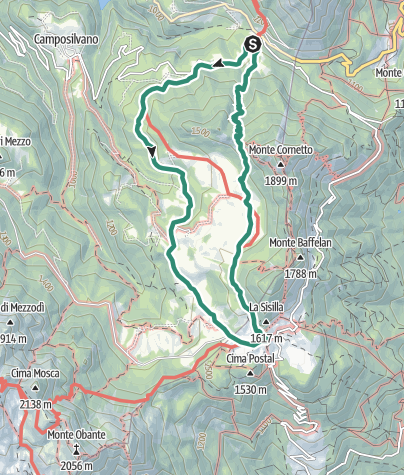 Map / Trek to Sengio Alto