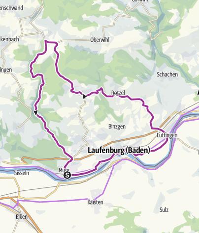 Karte / RouteWT 2 - Rhein-Murg-Tour