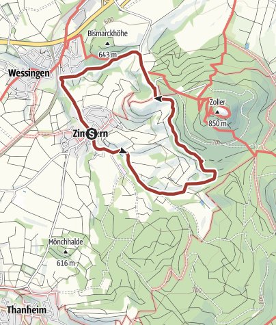 Karte / Kaiserweg