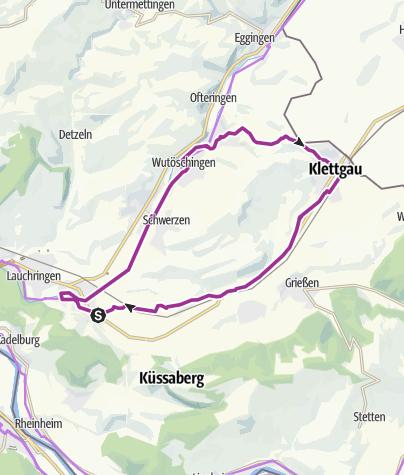 Karte / RouteWT 5 - Klettgau Tour