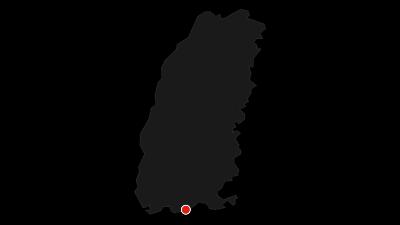 Karte / Laufenburg: Neun Stadtteile Weg