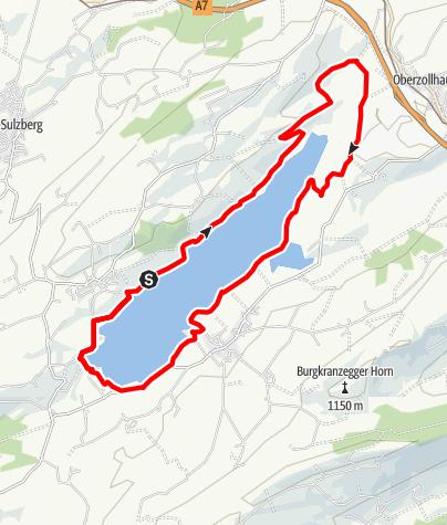 Karte / Rottachseerundweg-Nordic Walking