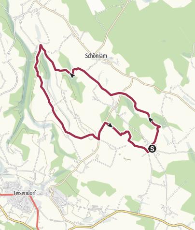 Karte / Surspeicher-Weg