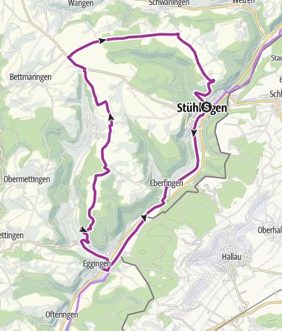 Karte / RouteWT 7 - Rund um den Hohenlupfen