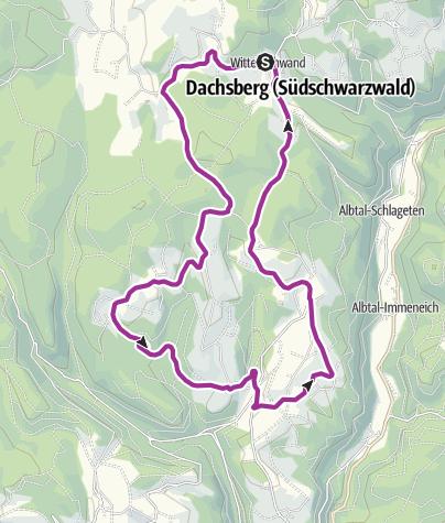 Karte / RouteWT 9a - Panorama-Kurz-Route