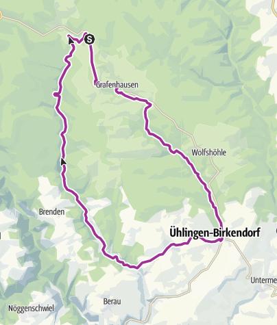 Karte / RouteWT 10 - Zwei-Täler-Tour