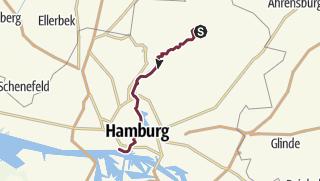 Alsterwanderweg Karte