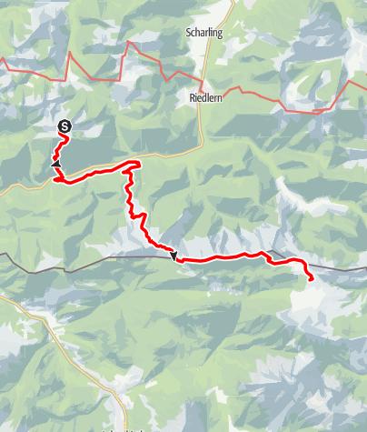 Karte / Übergang Tegernseer Hütte zur Gufferthütte