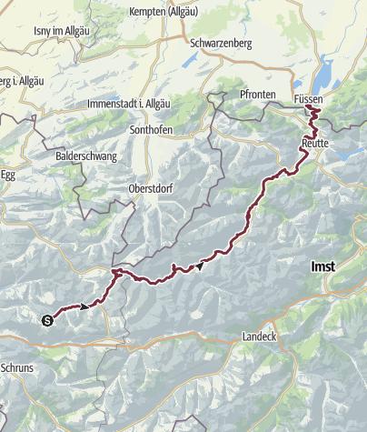 Karte / Lechweg