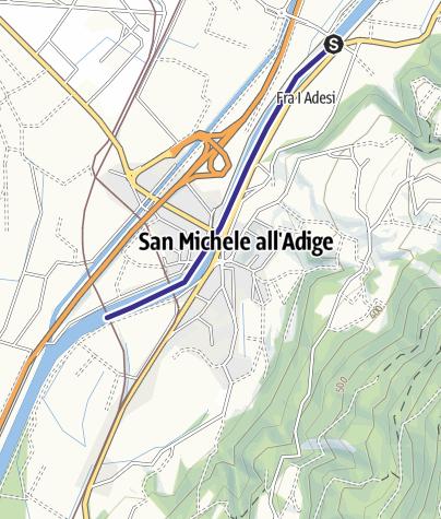 Cartina / Fiume Adige AP1